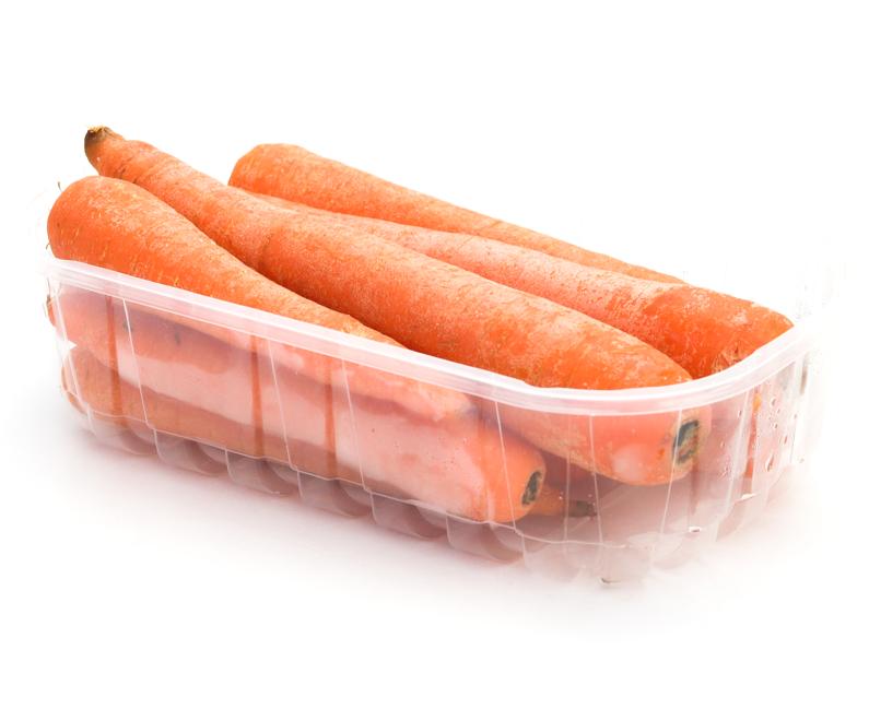 Van Woerden Flevo biologische wortel verpakt